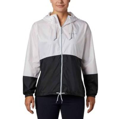 コロンビア レディース ジャケット・ブルゾン アウター Columbia Women's Flash Forward Windbreaker Jacket White/Black