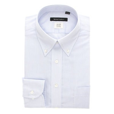 【SUPER EASY CARE・再生繊維】ボタンダウンカラードレスシャツ 〔EC・BASIC〕