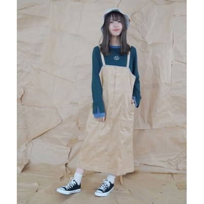 NICOLE / コーデュロイジャンパースカート WOMEN スカート > スカート