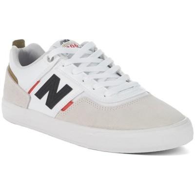 ニューバランス メンズ スニーカー シューズ New Balance Numeric 306 Shoes White/Red