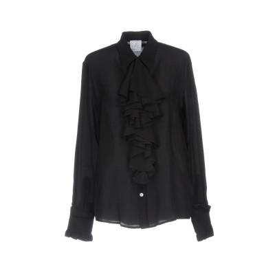 STELLA JEAN シャツ ブラック 40 シルク 100% シャツ