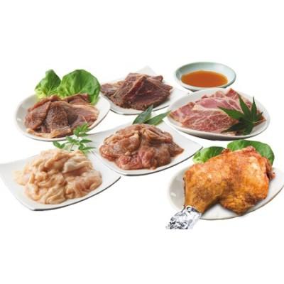 【秘伝の特製タレ付き!】赤平自慢のお肉6種選りすぐりセット