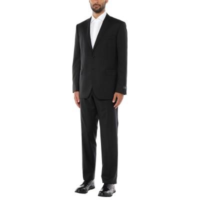 TOMBOLINI スーツ ブラック 58 バージンウール 100% スーツ