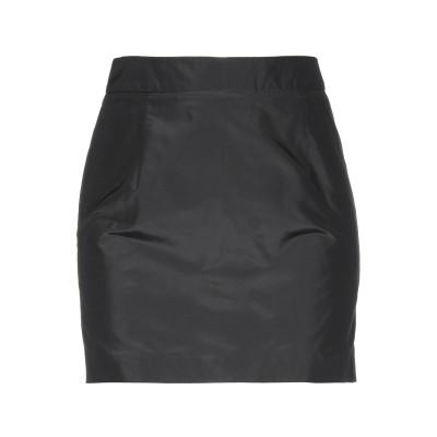 ジョン リッチモンド JOHN RICHMOND ミニスカート ブラック 40 シルク 100% ミニスカート