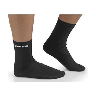 Cressi Ultra Stretch Fins Socks black S/M 141[並行輸入] 並行輸入品