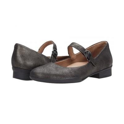 Dansko ダンスコ レディース 女性用 シューズ 靴 フラット Kaelyn - Graphite Metallic Nappa