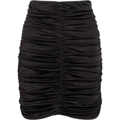 イザベル マラン Isabel Marant レディース ミニスカート スカート Doroka ruched jersey miniskirt Black