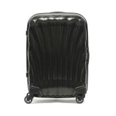 Samsonite(サムソナイト)【正規品10年保証】サムソナイト スーツケース 機内持ち込み Samsonite キャリーケース Cosmolite コスモライト Spinner 55 TSAロック 36L 1~2泊程度 小型 旅行 出張 メンズ レディース V22-302 ブラック