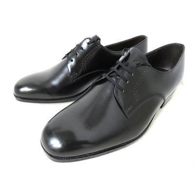 【中古】OTSUKA 外羽根 プレーントゥ 革靴 ビジネスシューズ 黒 25.5cm ワイズEEE 美品 シューズ メンズ 【ベクトル 古着】