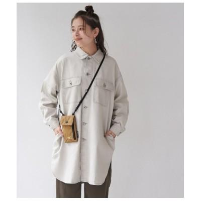 ROPE' PICNIC / カラーデニムシャツジャケット WOMEN ジャケット/アウター > デニムジャケット