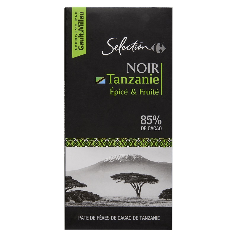 家福精選坦桑尼亞特黑巧克力85
