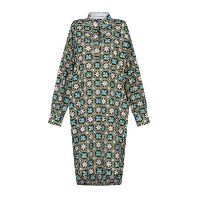 LE SARTE PETTEGOLE ミニワンピース&ドレス ブラック 46 コットン 100% ミニワンピース&ドレス