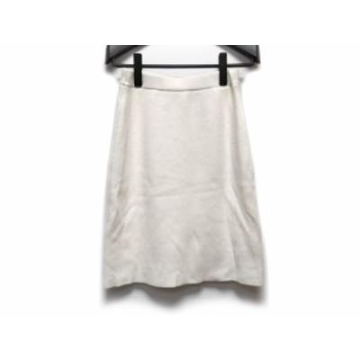 アプワイザーリッシェ Apuweiser-riche スカート サイズ1 S レディース 白【中古】20200630
