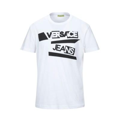 VERSACE T シャツ ホワイト XS コットン 100% T シャツ