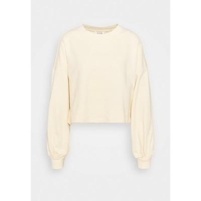 モンキ パーカー・スウェットシャツ レディース アウター OLINDA - Sweatshirt - light yellow