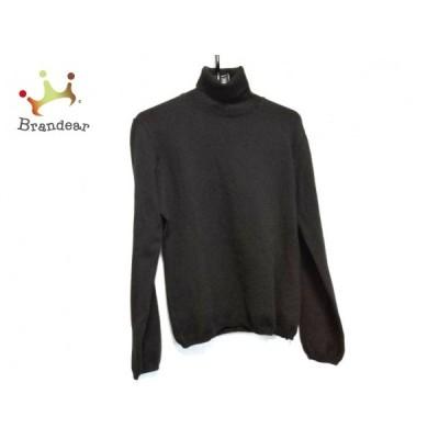 マックスマーラ Max Mara 長袖セーター サイズL レディース - 黒 タートルネック  値下げ 20210414