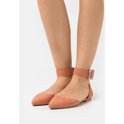 レディース 靴 シューズ ONLANAS LIFE BUCKLE - Ankle strap ballet pumps - pink