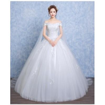 お得3点セット付 ウェディングドレス Aライン ビスチェ ケープ付 白 結婚式 マタニティ 大きいサイズ オーダーサイズ可能 H073