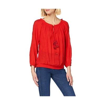 Desigual レディース ブラウス 長袖 US サイズ: Large カラー: レッド
