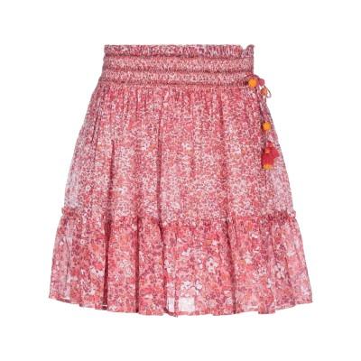 POUPETTE ST BARTH ミニスカート フューシャ XS コットン 100% ミニスカート