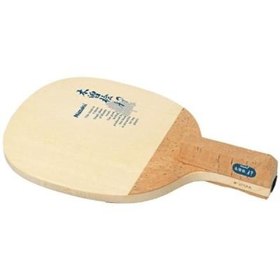 卓球 ラケット Pラケット AP ペンホルダー 日本式 木材 NE-6605(角丸型)