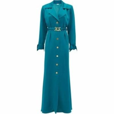 ドド バー オア Dodo Bar Or レディース ワンピース シャツワンピース ワンピース・ドレス Tamara belted shirt dress Blue