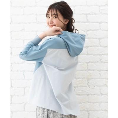 ADMIX-Japan/JETSET SOLO PLUS / CHARLI 布帛切替パーカー WOMEN トップス > パーカー