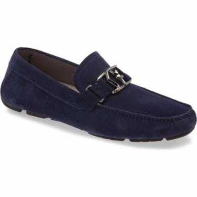 サルヴァトーレ フェラガモ SALVATORE FERRAGAMO メンズ ローファー シューズ・靴 Peter Loafer Blue Garconne