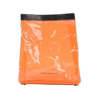 サイモン・ミラー SIMON MILLER ハンドバッグ オレンジ プラスティック / 革 ハンドバッグ
