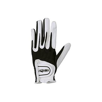 本間ゴルフ ユニセックス ゴルフグローブ SPEEDMONSTER 左手用 ホワイト/ブラック L GC13001