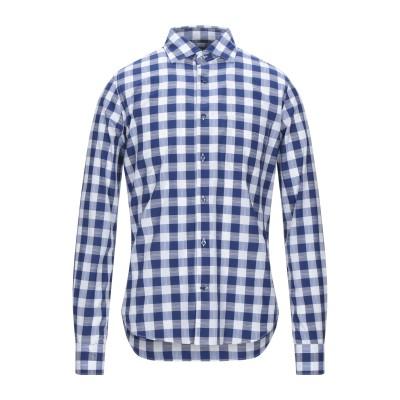 BORSA シャツ ダークブルー 39 コットン 100% シャツ