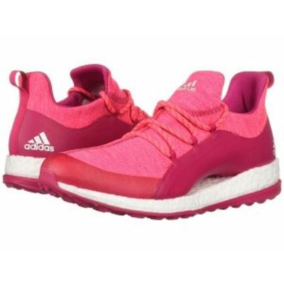 アディダス レディース スニーカー シューズ Pureboost XG 2 Red Zest/Active Purple/Footwear White