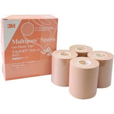 3M キネシオロジー テーピング マルチポアスポーツ ライト 75mm 272375 (4巻)
