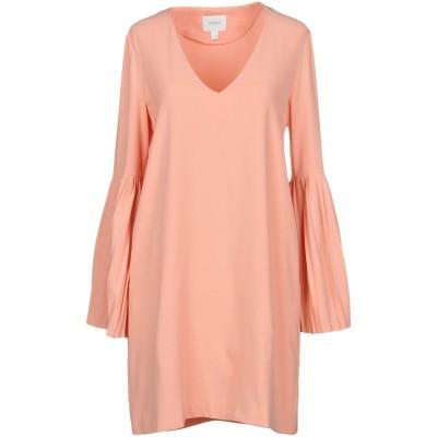 JOVONNA ミニワンピース&ドレス サーモンピンク 6 ポリエステル 100% ミニワンピース&ドレス