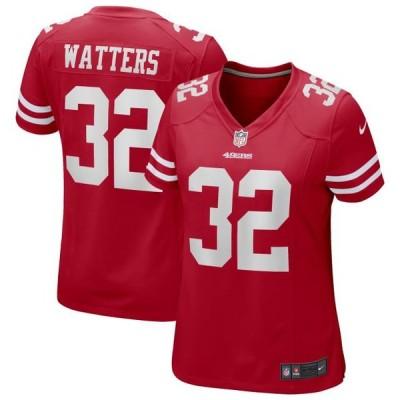 レディース スポーツリーグ フットボール Ricky Watters San Francisco 49ers Nike Women's Game Retired Player Jersey - Scarlet