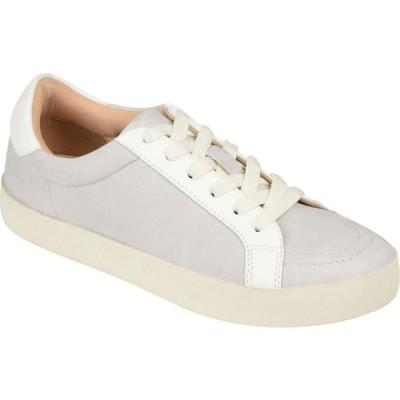 ジュルネ コレクション Journee Collection レディース スニーカー シューズ・靴 Comfort Foam(TM) Edell Sneaker Grey