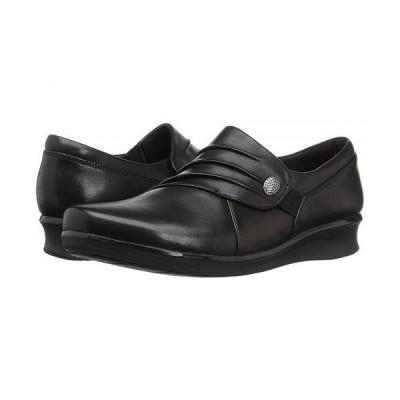 Clarks クラークス レディース 女性用 シューズ 靴 ローファー ボートシューズ Hope Roxanne - Black Leather
