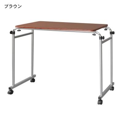 幅と高さが調節できるベッドデスク
