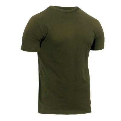 ROTHCO / ロスコ 無地 ベージュ メンズTシャツ 1740 Athletic Fit Solid Color Military T-Shirt-Olive Drab【サイズ:S〜XL】