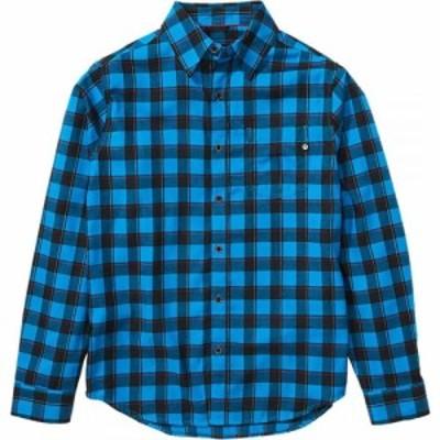 マーモット Marmot メンズ シャツ トップス Bodega Lightweight Long - Sleeve Flannel Clear Blue