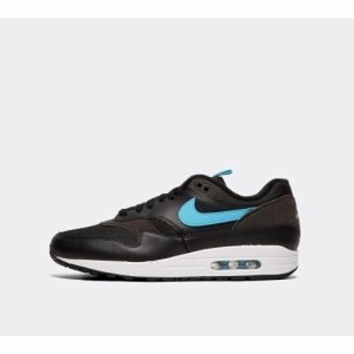 ナイキ Nike メンズ スニーカー シューズ・靴 air max 1 se trainer Black/Blue Fury/White