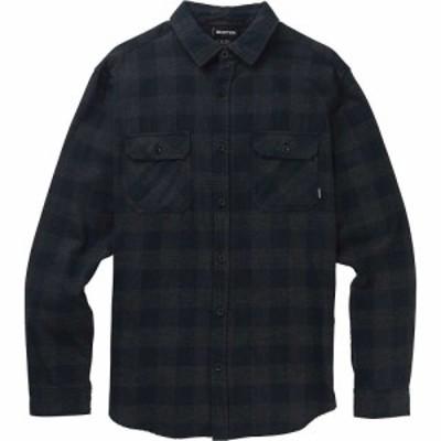 バートン Burton メンズ シャツ フランネルシャツ トップス Brighton Flannel Shirt True Black Heather Buffalo Plaid