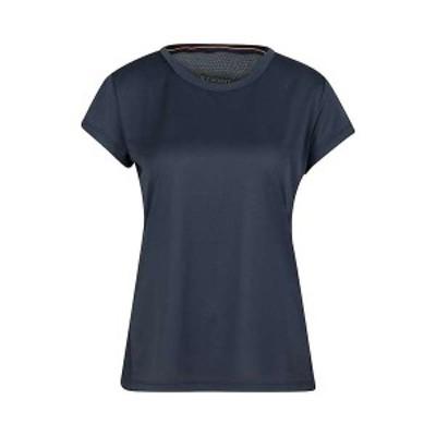 マムート レディース Tシャツ トップス Mammut Women's Crashiano T-Shirt Marine