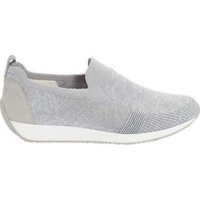 アラ ara レディース スリッポン・フラット シューズ・靴 Leena 34080 Sneaker Silver Woven Stretch Fabric