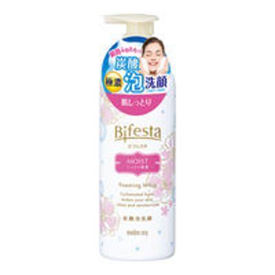 マンダムビフェスタ 泡洗顔 モイスト 180g しっとり 保湿 くすみ マンダム ヒアルロン酸 コラーゲン 保湿 毛穴 汚れ くすみ しっとり 角質