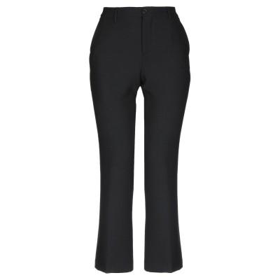 ピーティーゼロウーノ PT01 パンツ ブラック 40 ポリエステル 53% / バージンウール 44% / ポリウレタン 3% パンツ