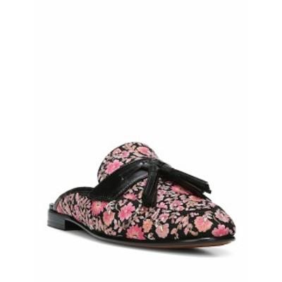サム エデルマン レディース フラットシューズ Paris 2 Floral Textile Tasseled Mules