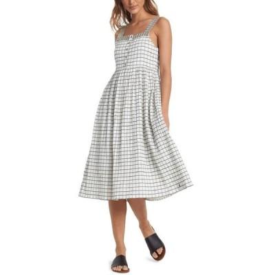 ロキシー レディース ワンピース トップス Juniors' Fun And Games Cotton Midi Dress