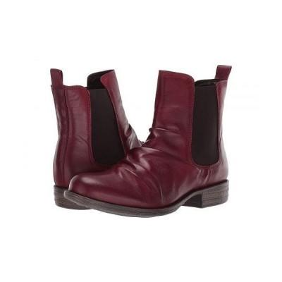 Miz Mooz ミズムーズ レディース 女性用 シューズ 靴 ブーツ チェルシーブーツ アンクル Lissie - Bordeaux