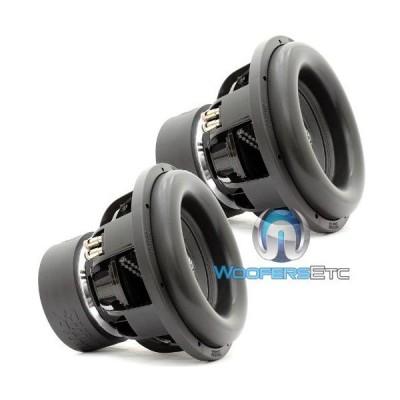ペア X-12 D4 - Sundown Audio 12インチ 1250W RMS Dual 4-Ohm X シリーズ サブウーファー